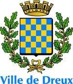 Ville de Dreux bleu azurBlason